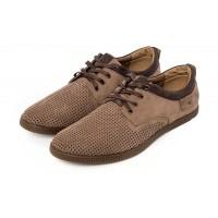 Мужские туфли весна-лето нубук/кожа разные цвета 0013АФ