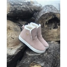 Зимние ботинки женские на меху замшевые 0546-1УКМ
