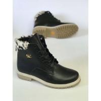 Ботинки на шнуровке женские зимние демисезонные цвета разные 0558УКМ