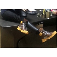 Ботинки на шнуровке женские зимние демисезонные кожа цвета разные Uk0402
