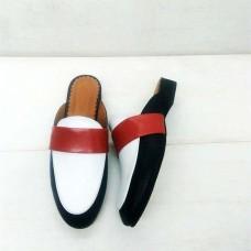 Женские туфли без каблука лето кожа 0192АЛМ