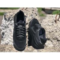 Кожаные кроссовки мужские (47-49 размеры) 0167НИМ