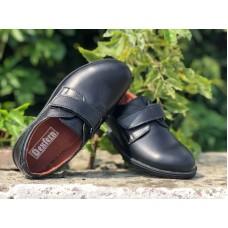 Туфли детские кожаные черные (28-32 размеры) 0036УКМ