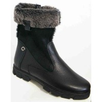 Высокие ботинки зимние женские большие размеры 0068МД