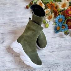 Высокие ботинки женские деми/зима 0039БНМ