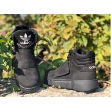 Ботинки подростковые на липучках зима 0102УКМ
