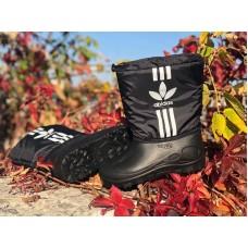 Ботинки подростковые сапоги зимние плащёвка 0424КФМ