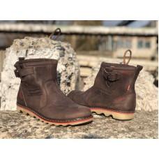 Зимние ботинки мужские кожаные 0014ЛЕВ