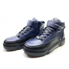 Ботинки подростковые демисезонные кожаные 0648-1УКМ
