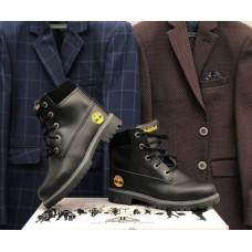 Ботинки подростковые демисезонные кожаные на замочке 0026ТМ-1