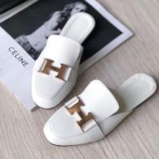 Женские туфли без каблука мюлли кожа 0033СЗ