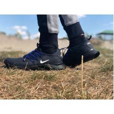 Демисезонные кроссовки мужские черные 0014НИМ