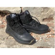 Детские ботинки теплые кожаные 0076-1АДМ