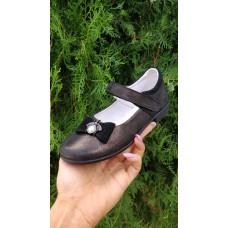 Туфли кожаные для девочки 31-37 размеры 0370КФМ