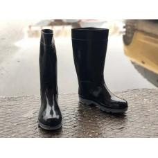 Мужские резиновые сапоги черные 0022РСМ