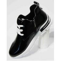 Стильные женские ботинки на шнурках/молнии р-ры 33-42 5245-17МД