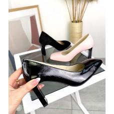 Женские туфли лодочки на каблуке ТОП качество TOPs4500