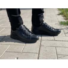 Подростковые туфли для мальчика кожаные р-ры 35-40 0750УКМ