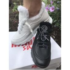 Зимние кроссовки женские с мехом р-ры 33-43 MD0158