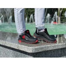 Подростковые туфли кожаные черные 0182УКМ