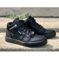 Ботинки демисезонные подростковые кожаные (35-40 размер) 0755УКМ