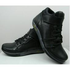 Ботинки демисезонные подростковые кожаные 32 и 33 размер 0162УКМ