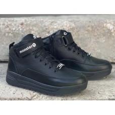 Ботинки подростковые зимние кожаные (35-40 размеры) 0756УКМ